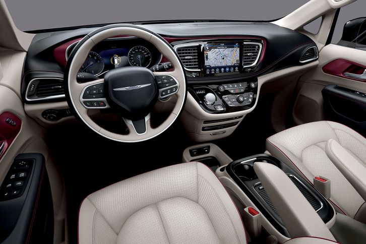 2018 Chrysler Pacifica Interior Plain Interior 2018 Chrysler Pacifica Front View With Chrysler