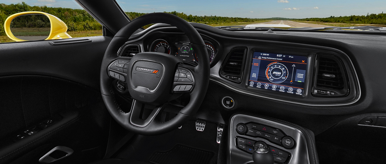 2018 Dodge Challenger Interior