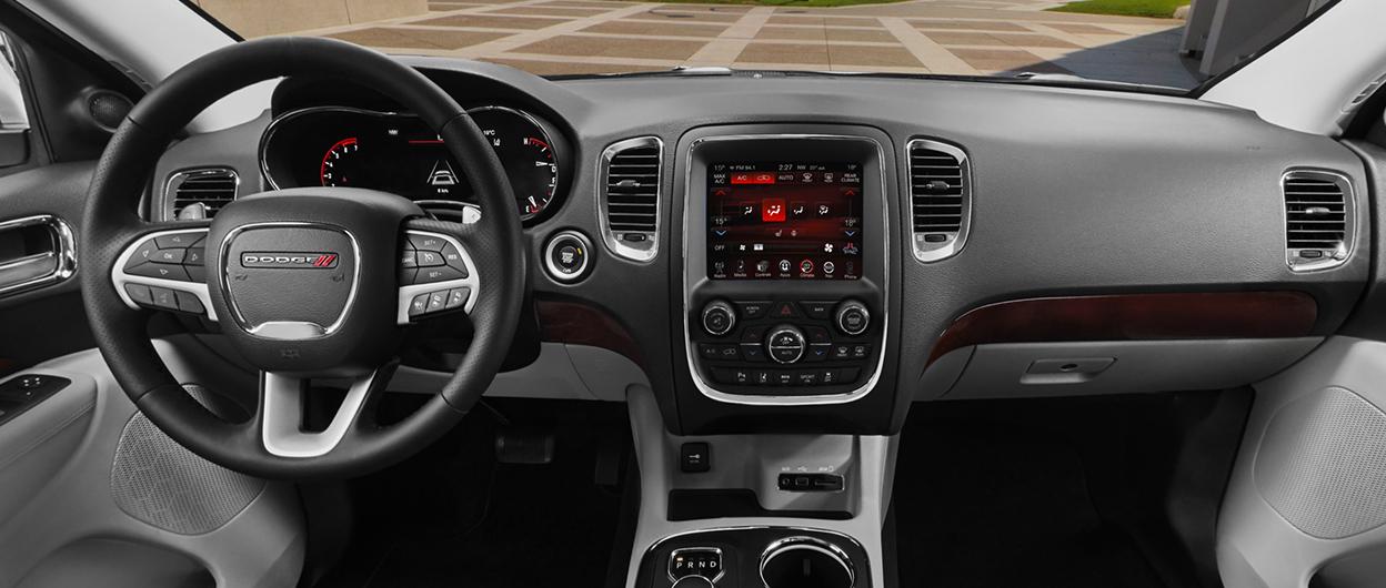 Dodge durango interior photos - Dodge durango 2017 interior pictures ...