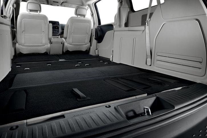 2017 Dodge Caravan Interior Cargo Dimensions