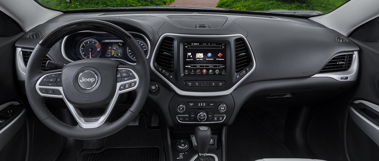2018 Jeep® Cherokee Interior