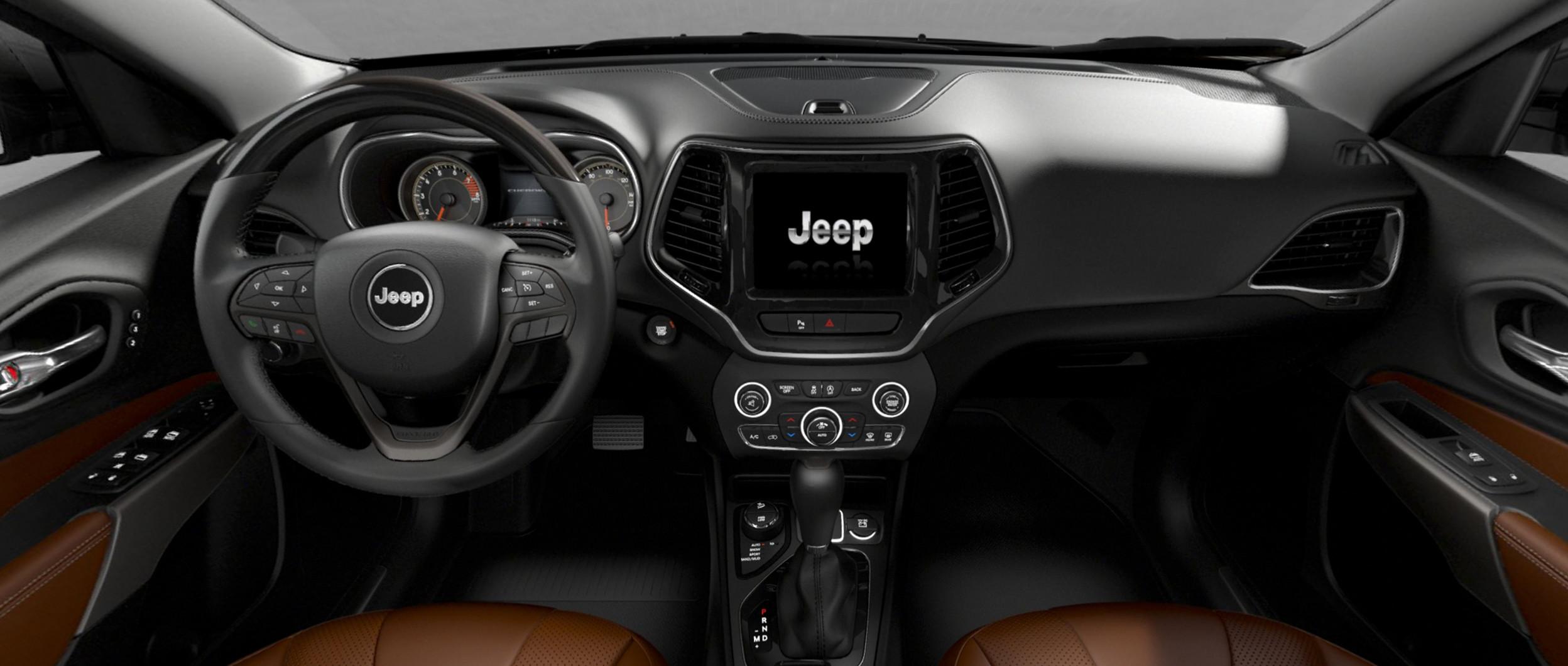 New 2019 Jeep Cherokee Mid Size Suv 2000 Mazda Mpv Fuel Filter Location Reimagined Interior