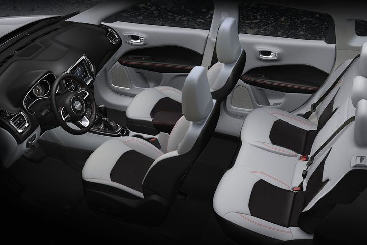 jeep compass interior 2018. Black Bedroom Furniture Sets. Home Design Ideas