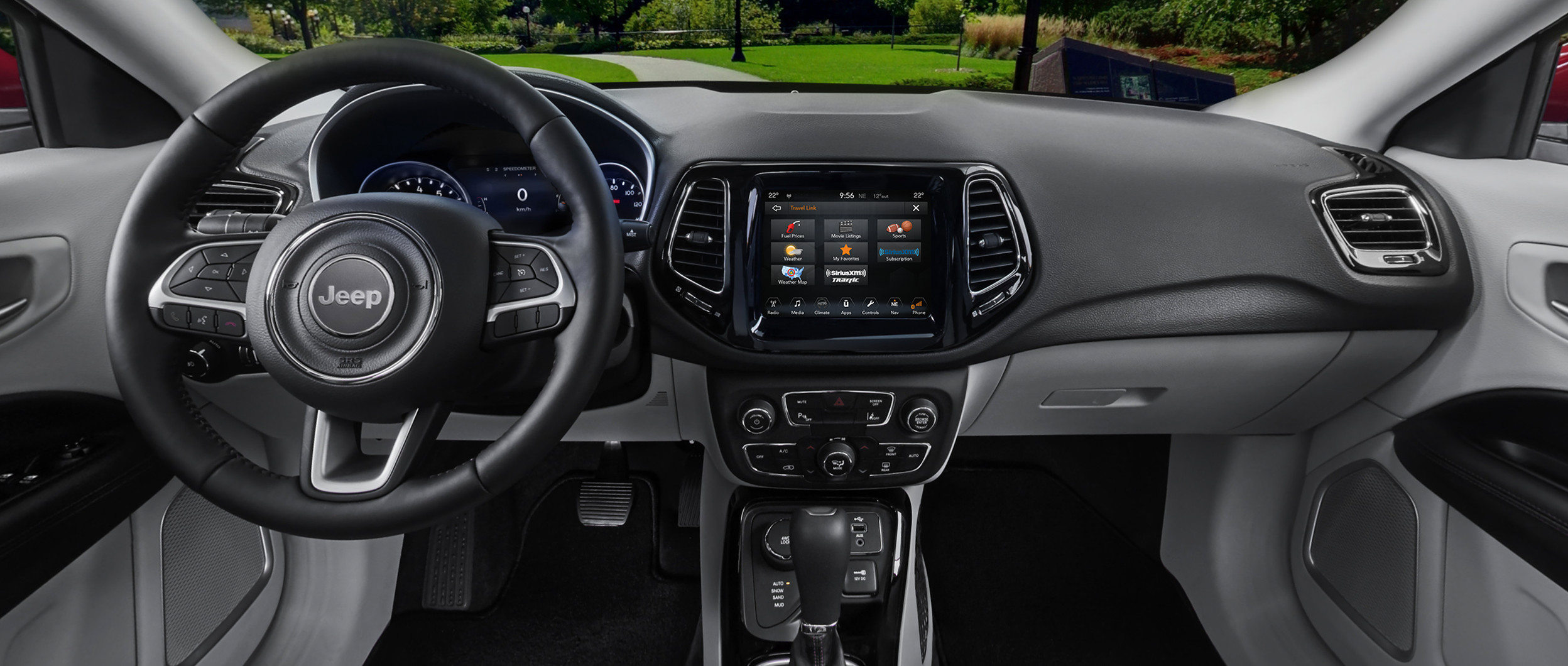 jeep compass 2014 interior