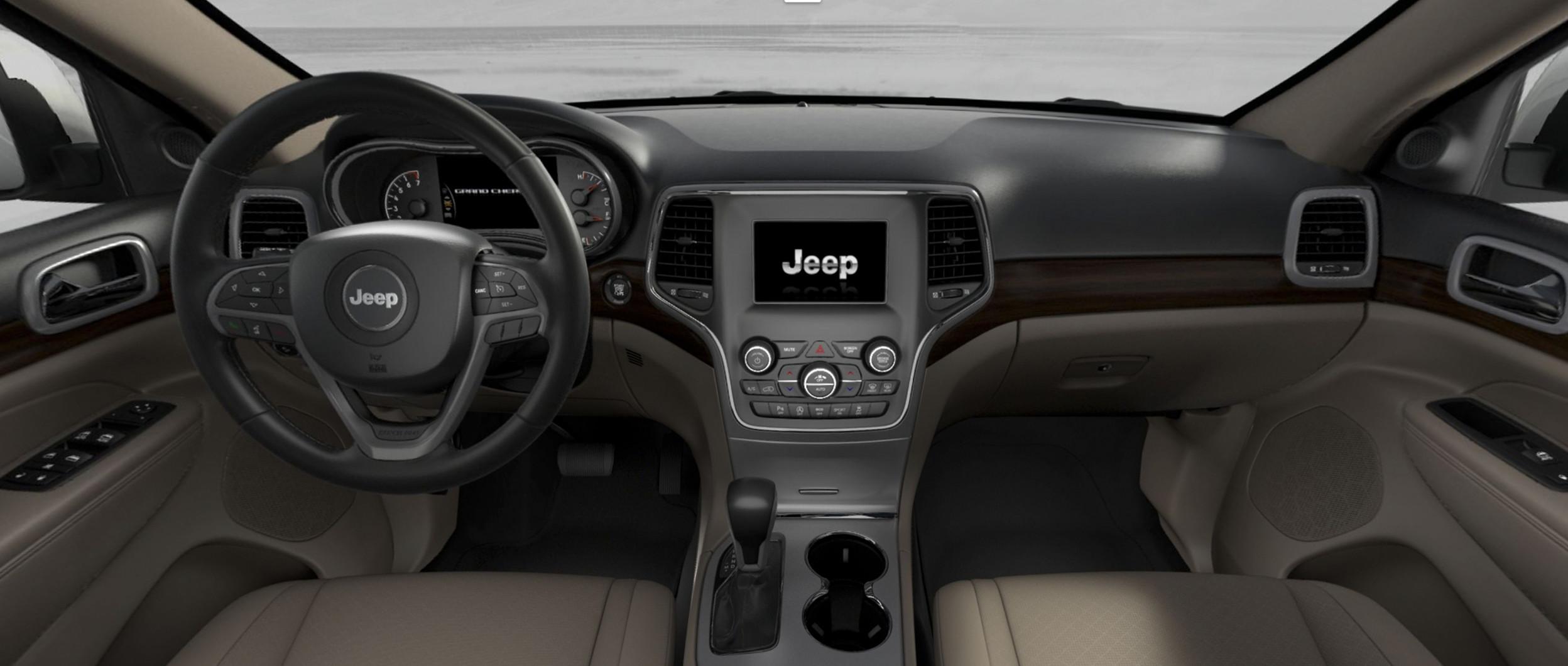 2018 Jeep Grand Cherokee Interior Gallery Door View Laredo 360