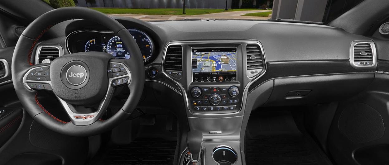 View Trailhawk 360° Interior. View Summit 360° Interior. 2018 Jeep Grand  Cherokee ...