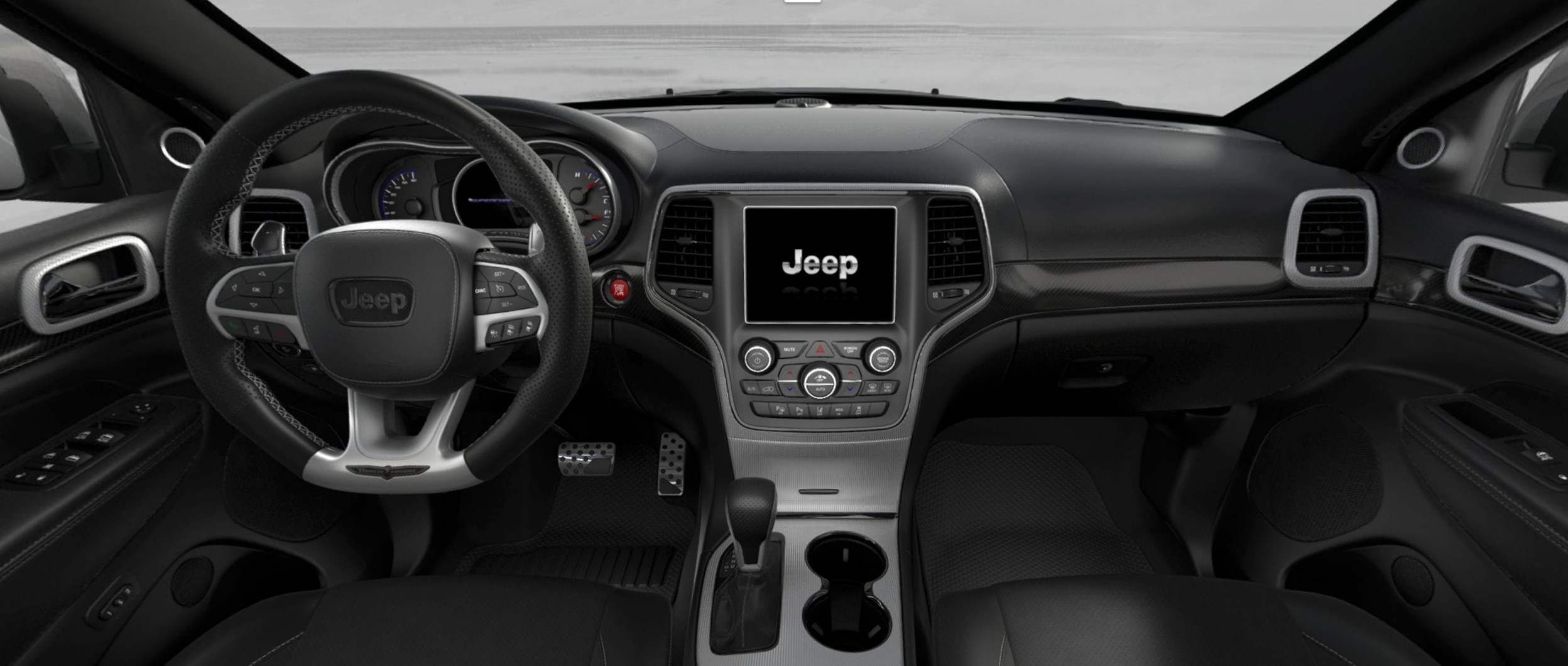 intrieur du jeep grand cherokee